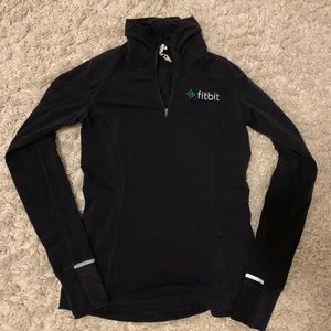 Lululemon Pullover with Fitbit logo